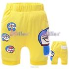 กางเกงขาสั้นโดราเอมอน-สีเหลือง-(6size/pack)