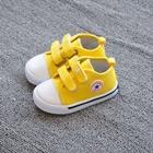 รองเท้าผ้าใบเด็ก-Star-Kids-สีเหลือง-(8-คู่/แพ็ค)