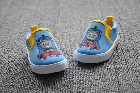 รองเท้าเด็ก Thomas สีฟ้า (8 คู่/แพ็ค)
