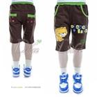 กางเกงขาสามส่วน-Clever-Lion-สีน้ำตาล-(5size/pack)