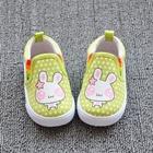 รองเท้าเด็กกระต่ายน้อย-สีเขียว-(8-คู่/แพ็ค)