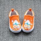 รองเท้าเด็กลายอังปังแมนและคู่-สีส้ม-(8-คู่/แพ็ค)