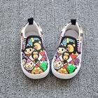 รองเท้าเด็กลายการ์ตูนน่ารัก-(7-คู่/แพ็ค)