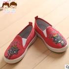 รองเท้าเด็กหมาป่าน้อย-สีแดง-(5-คู่/แพ็ค)