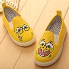 รองเท้าเด็ก-Spongebob-สีเหลือง-(5-คู่/แพ็ค)