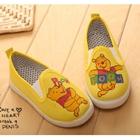 รองเท้าเด็กหมีพูลล์-สีเหลือง-(5-คู่/แพ็ค)