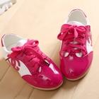 รองเท้าผ้าใบเด็ก-Chanel-สีบานเย็น-(5-คู่/แพ็ค)