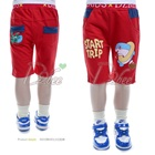 กางเกงขาสามส่วน-Start-Trip-สีแดง-(5size/pack)
