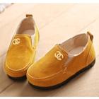 รองเท้าเด็ก-Chanel-สีเหลือง-(5-คู่/แพ็ค)