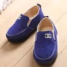 รองเท้าเด็ก-Chanel-สีน้ำเงิน-(5-คู่/แพ็ค)
