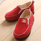 รองเท้าเด็ก-Chanel-สีแดง-(5-คู่/แพ็ค)