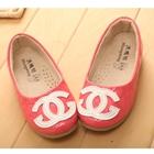 รองเท้าเด็กหญิง-Chanel-สีชมพู-(5-คู่/แพ็ค)