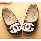รองเท้าเด็กหญิง-Chanel-สีดำ-(5-คู่/แพ็ค)