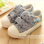 รองเท้าผ้าใบเด็ก-Dot-Dot-สีฟ้า-(6-คู่/แพ็ค)