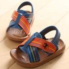 รองเท้าแตะเด็ก-ม้ากั๊บๆ-สีน้ำเงิน-(5-คู่/แพ็ค)
