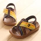 รองเท้าแตะเด็ก-ม้ากั๊บๆ-สีน้ำตาล(5-คู่/แพ็ค)
