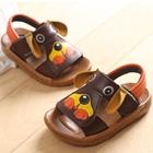 รองเท้าแตะเด็ก-เจ้าตูบน้อย-สีน้ำตาล-(5-คู่/แพ็ค)