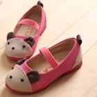 รองเท้าเด็ก-หมีน้อย-สีบานเย็น-(5-คู่/แพ็ค)