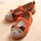 รองเท้าเด็ก-หมีน้อย-สีส้ม-(5-คู่/แพ็ค)