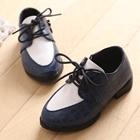 รองเท้าเด็กคุณชายสุดเท่ห์-สีน้ำเงิน-(5-คู่/แพ็ค)