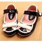 รองเท้าเด็กหญิงโบว์กิ๊ฟท์เก๋-สีดำ-(5-คู่/แพ็ค)