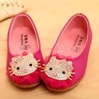 รองเท้าเด็กหญิง-Kitty-สีบานเย็น-(5-คู่/แพ็ค)