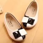 รองเท้าเด็กหญิงสองสี-สีขาวดำ-(5-คู่/แพ็ค)