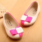 รองเท้าเด็กหญิงสองสี-สีขาวชมพู-(5-คู่/แพ็ค)