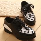 รองเท้าเด็กหัวกะโหลก-สีดำ-(21-25)(5-คู่/แพ็ค)
