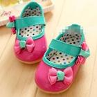 รองเท้าเด็กหญิงโบว์เก๋ๆ-สีชมพู-(5-คู่/แพ็ค)