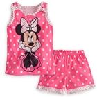 ชุดเสื้อและกางเกง-Minnie-Mouse-สีชมพู-(5-ตัว/pack)
