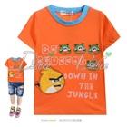 เสื้อยืดแขนสั้น-Angry-Bird-สีส้ม-(5size/pack)