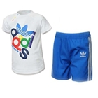 ชุดเสื้อและกางเกง-Adidas-สีฟ้า-(5-ตัว/pack)
