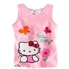 เสื้อกล้ามเด็ก-Hello-Kitty-สีชมพู-(5-ตัว/pack)