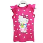 เสื้อยืดแขนสั้น-Hello-Kitty-สีชมพู-(5-ตัว/pack)