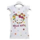 เสื้อยืดแขนสั้น-Hello-Kitty-สีขาว-(5-ตัว/pack)