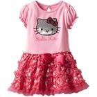 เดรสแขนสั้น-Hello-Kitty-สีชมพู--(5-ตัว/pack)