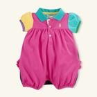 บอดี้สูทเด็ก-POLO-แบบ-C-สีชมพู-(3-size/pack)