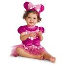 จั๊มสูทเดรส-Minnie-Mouse-สีชมพู-(5-size/pack)