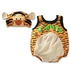 บอดี้สูทเด็ก-Tiger-พร้อมหมวก-(3-size/pack)
