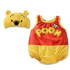 บอดี้สูทเด็กหมีพูลล์-พร้อมหมวก-(3-size/pack)