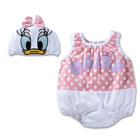 บอดี้สูทเด็ก Daisy พร้อมหมวก (3 size/pack)