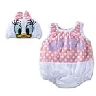 บอดี้สูทเด็ก-Daisy-พร้อมหมวก-(3-size/pack)