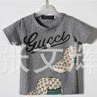 เสื้อยืดแขนสั้น-Gucci-สีเทา-(5-ตัว/pack)