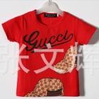 เสื้อยืดแขนสั้น-Gucci-สีแดง-(5-ตัว/pack)