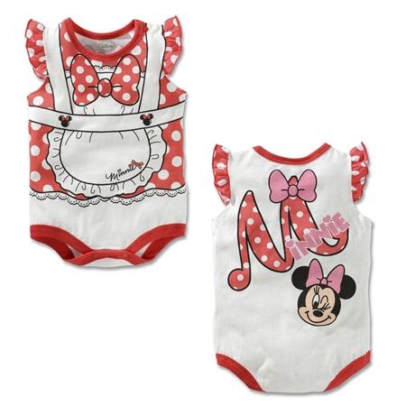 บอดี้สูทเด็ก Minnie Mouse (3 size/pack)