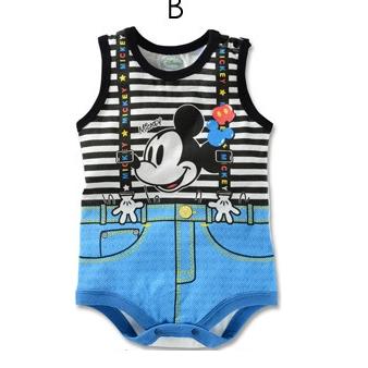 บอดี้สูทเด็ก Micky Mouse (3 size/pack)