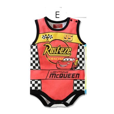 บอดี้สูทเด็ก McQueen สีแดง (3 size/pack)