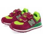 รองเท้าผ้าใบเด็ก-New-Balance-สีแดง-(6-คู่/แพ็ค)