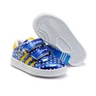 รองเท้าผ้าใบเด็ก-Adidas-สีน้ำเงิน-(6-คู่/แพ็ค)